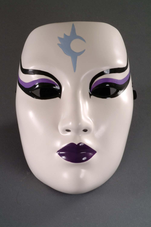 how to make a kabuki mask